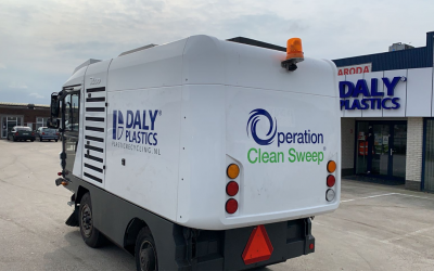 Daly Plastics signer of Operation Clean Sweep